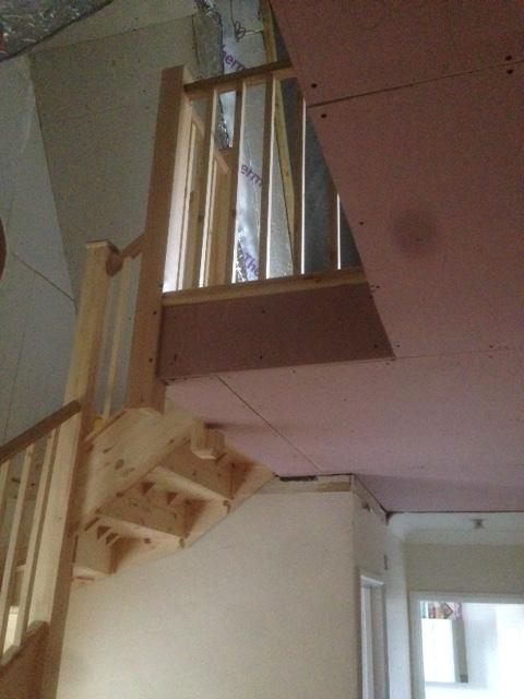 Jason Neale case study - new stair installation 1