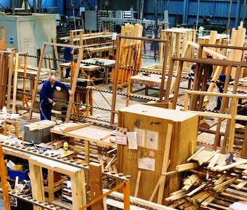 Joinery businesses losing thousands through poor waste wood disposal practices