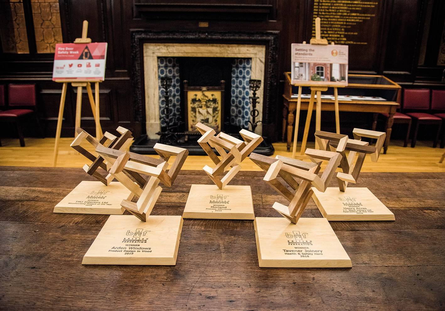 Enter the BWF Woodworking Project of the Year Award