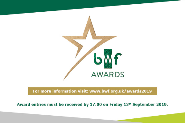 BWF Awards 2019 - Call for entries