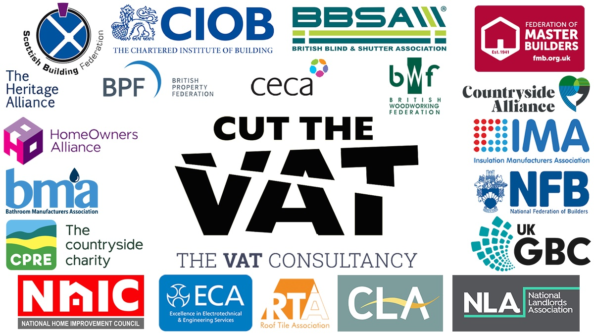 Cut the VAT on maintenance & repairs