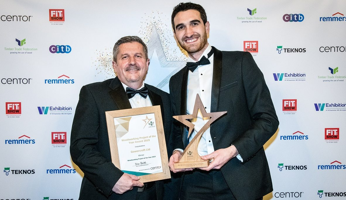 BWF Woodworking Project of the Year Award
