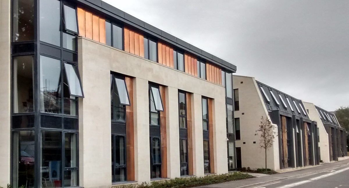 High Performance Wood Windows & Doors for Student Living in Bath