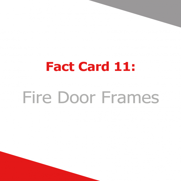 Fire Door Frame Publication