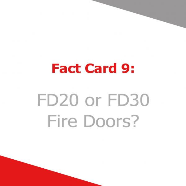 Fact Card 9 - fd20 and fd30 fire doors
