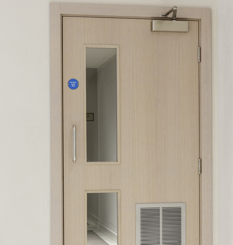 Fire Door with closer