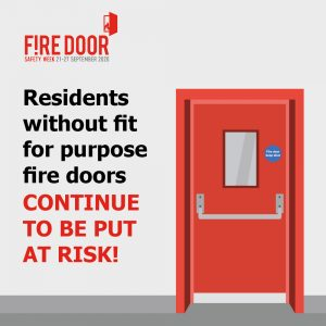 Fire Door Safety Week 2020 shares insight into the state of fire doors in local authority housing . . .