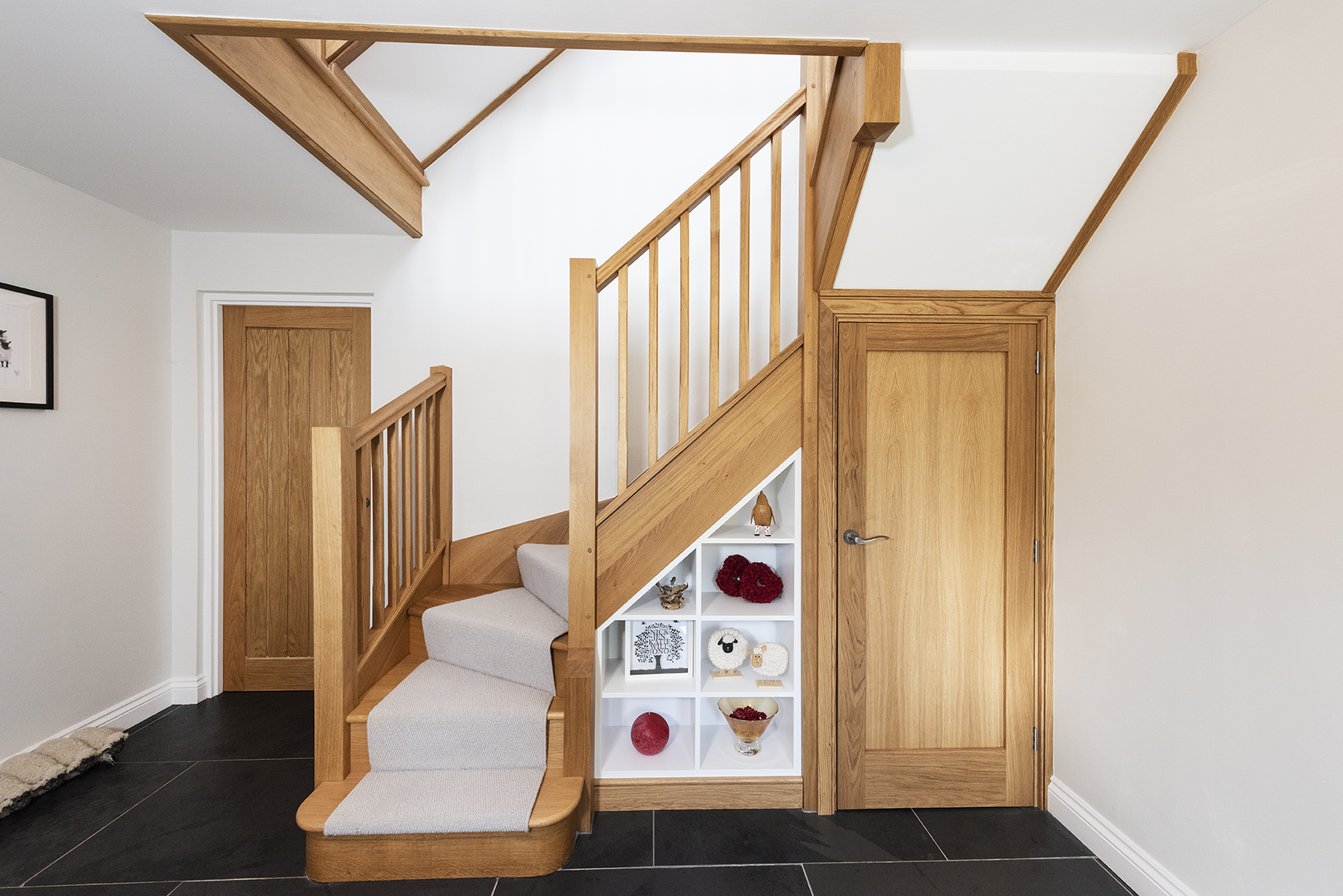 Timber stairs and internal doors