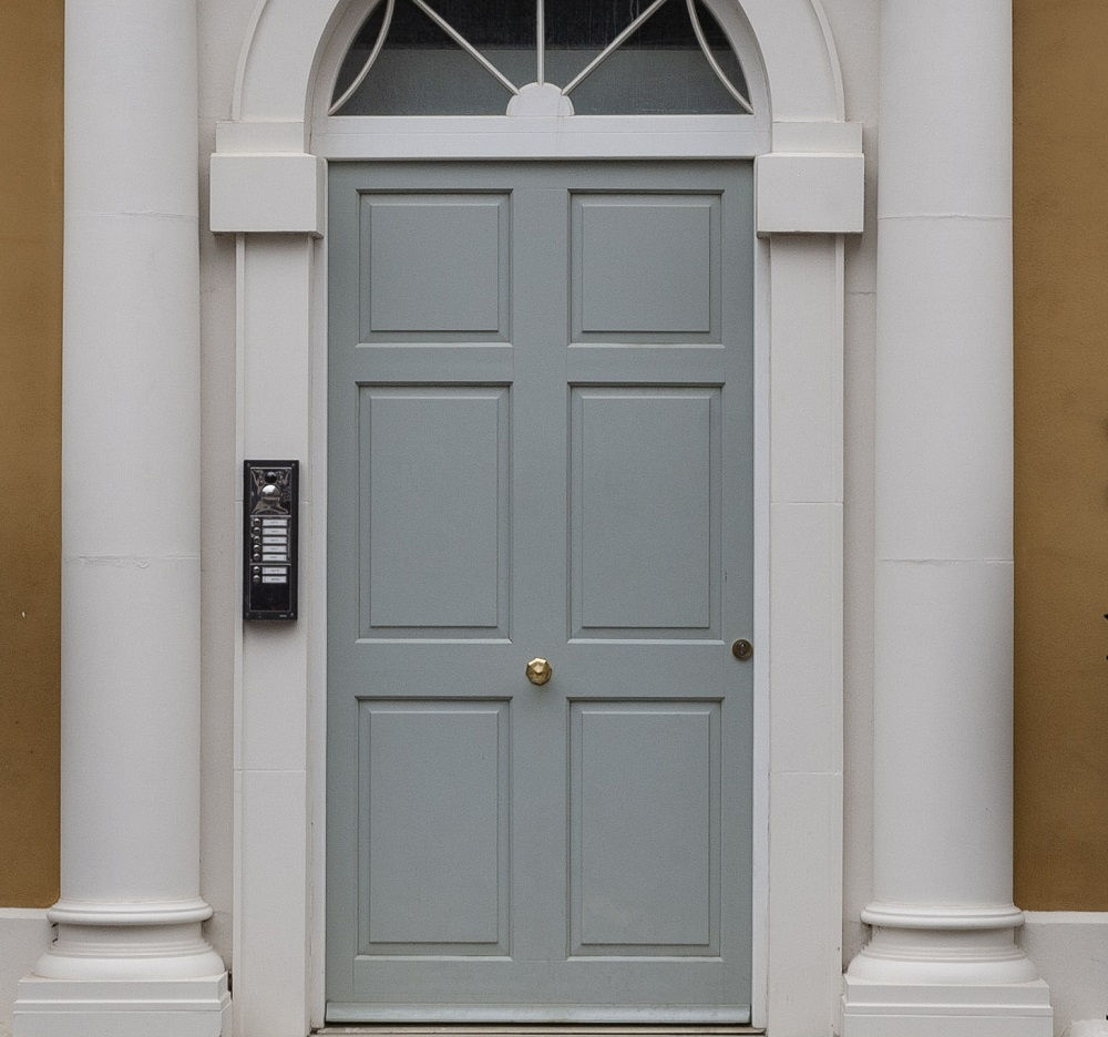 Wooden front doors - Georgian style