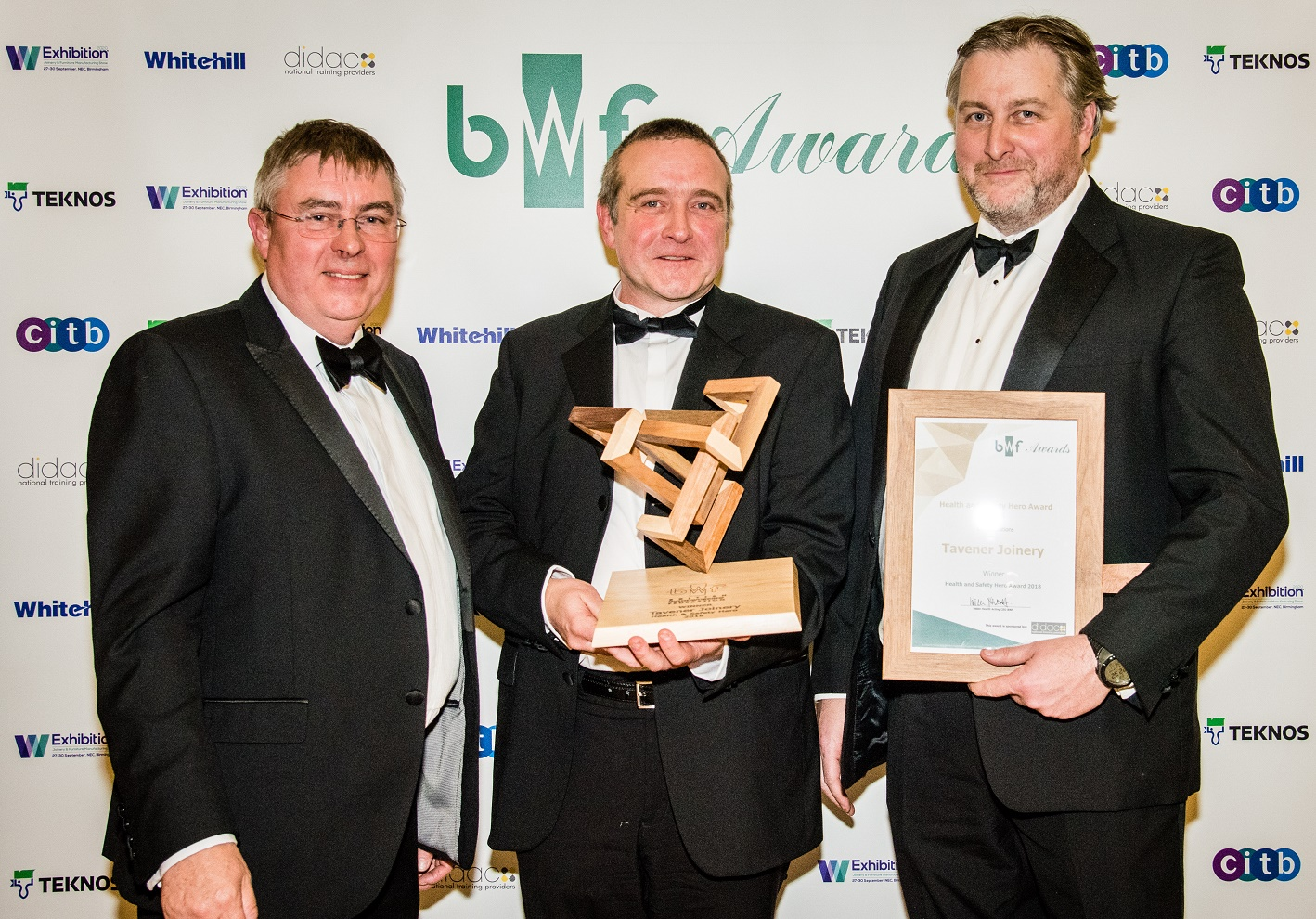 BWF Health & Safety Hero Award