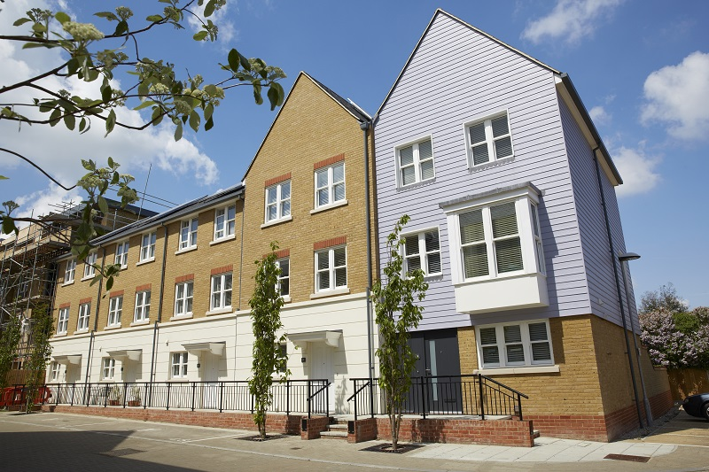 Timber windows and doors for housing development by JELD-WEN