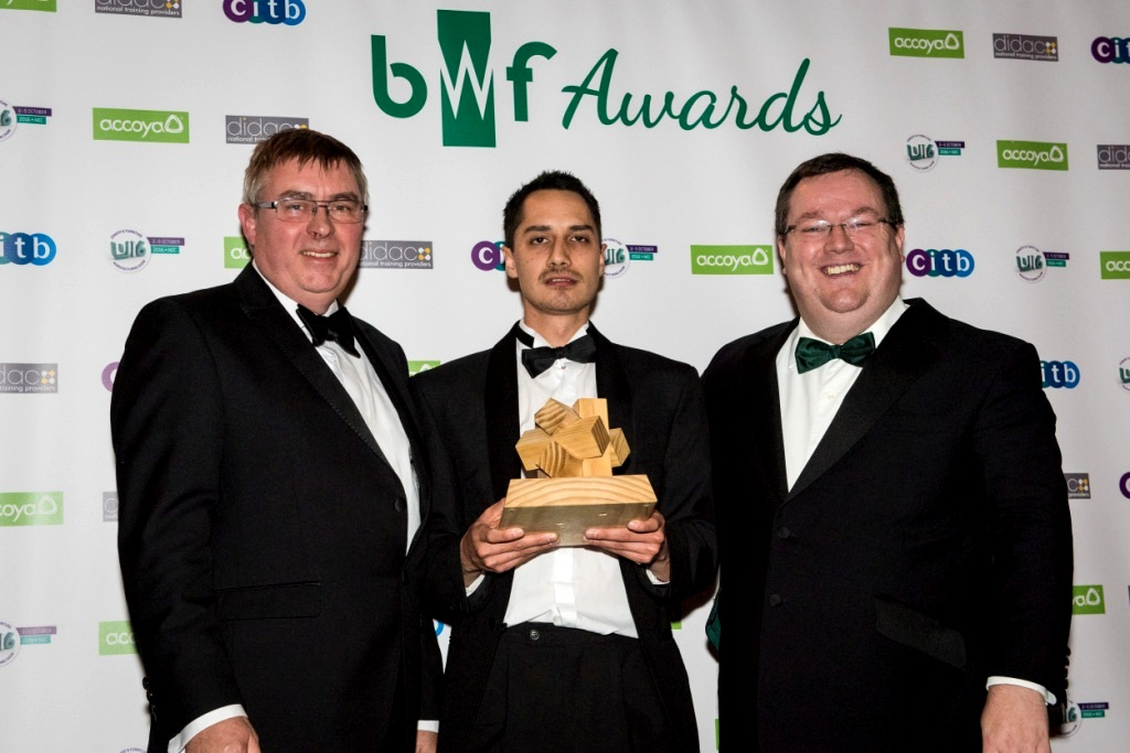 Outstanding achievements in joinery celebrated at BWF Woodworking Awards