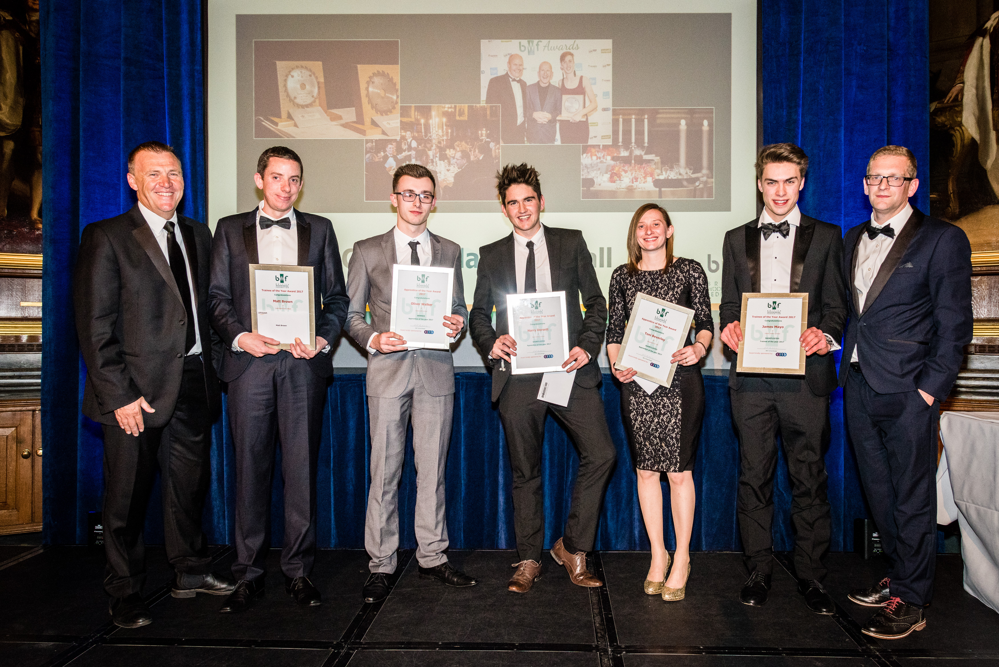 Rising stars and woodworking success stories celebrated at industry awards