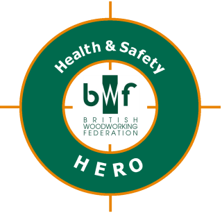 Health and Safety Hero Campaign Logo