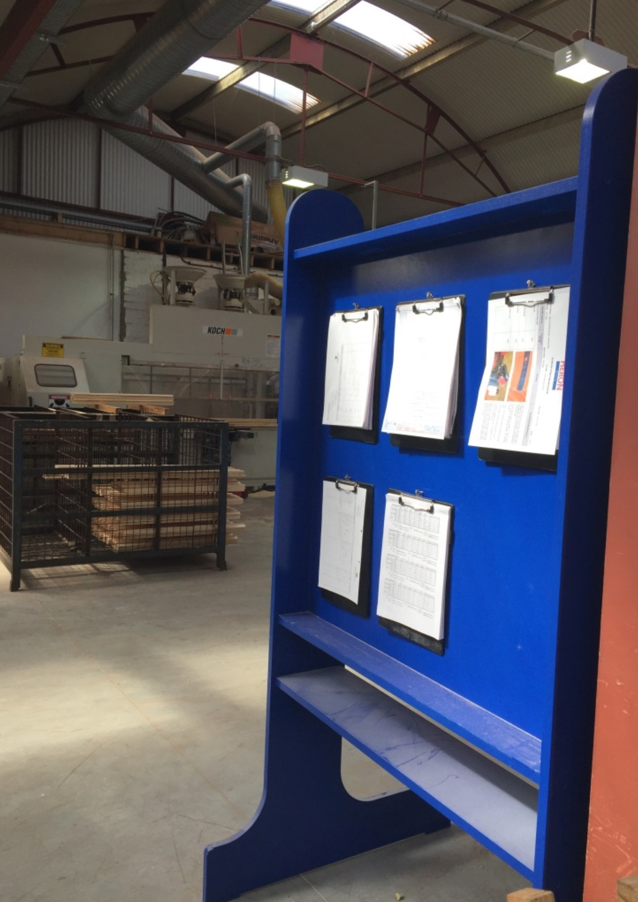 Case Study: Heron Joinery – Improvement projects taking place within new factory site