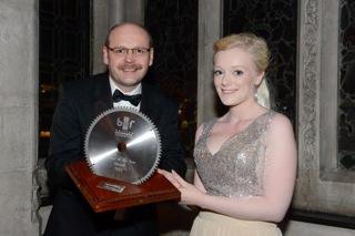 Trainee of the Year Winner  2014 - Samantha Chesson