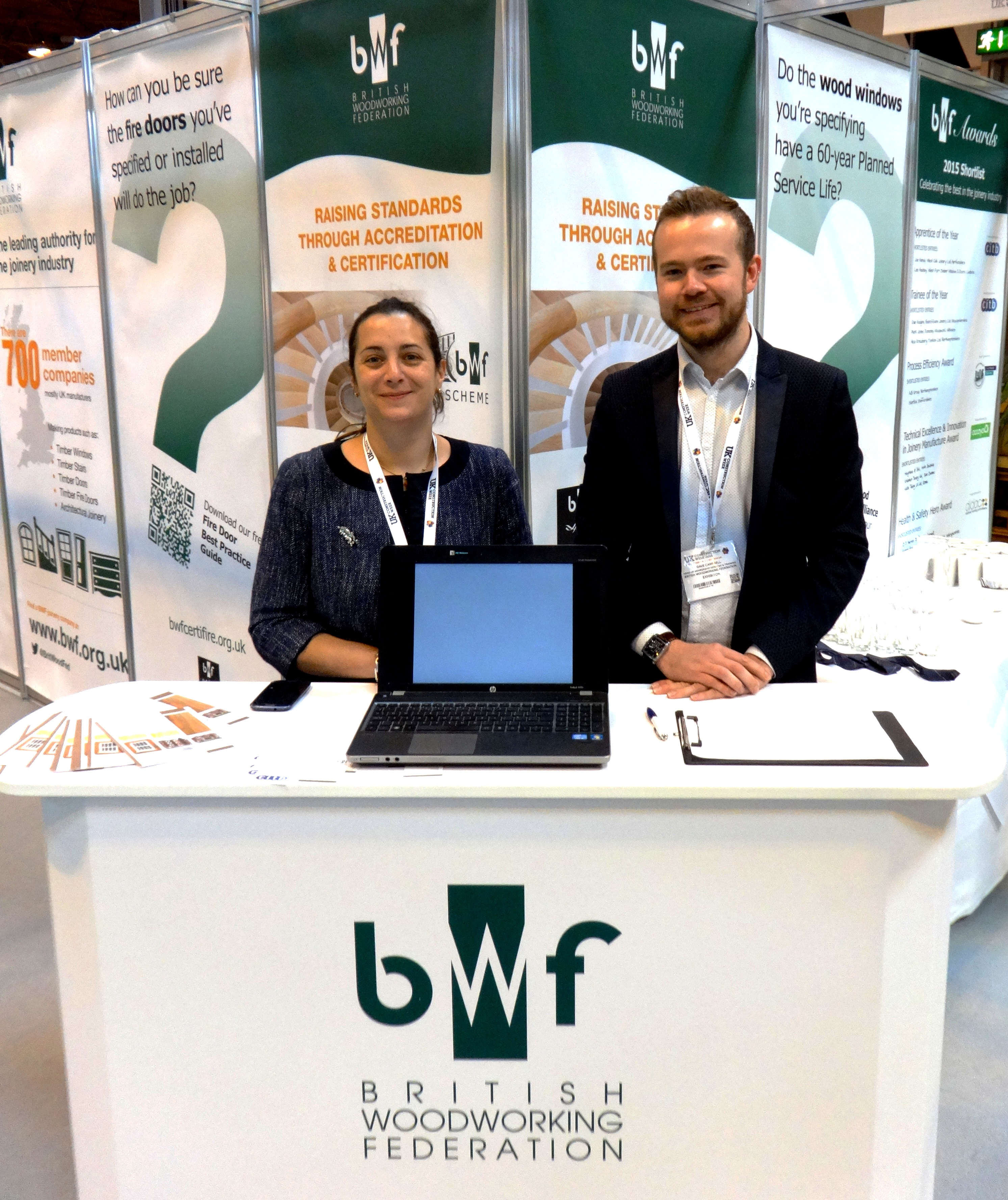 Meet the BWF team of experts at the Education Zone (R500) at W Exhibition