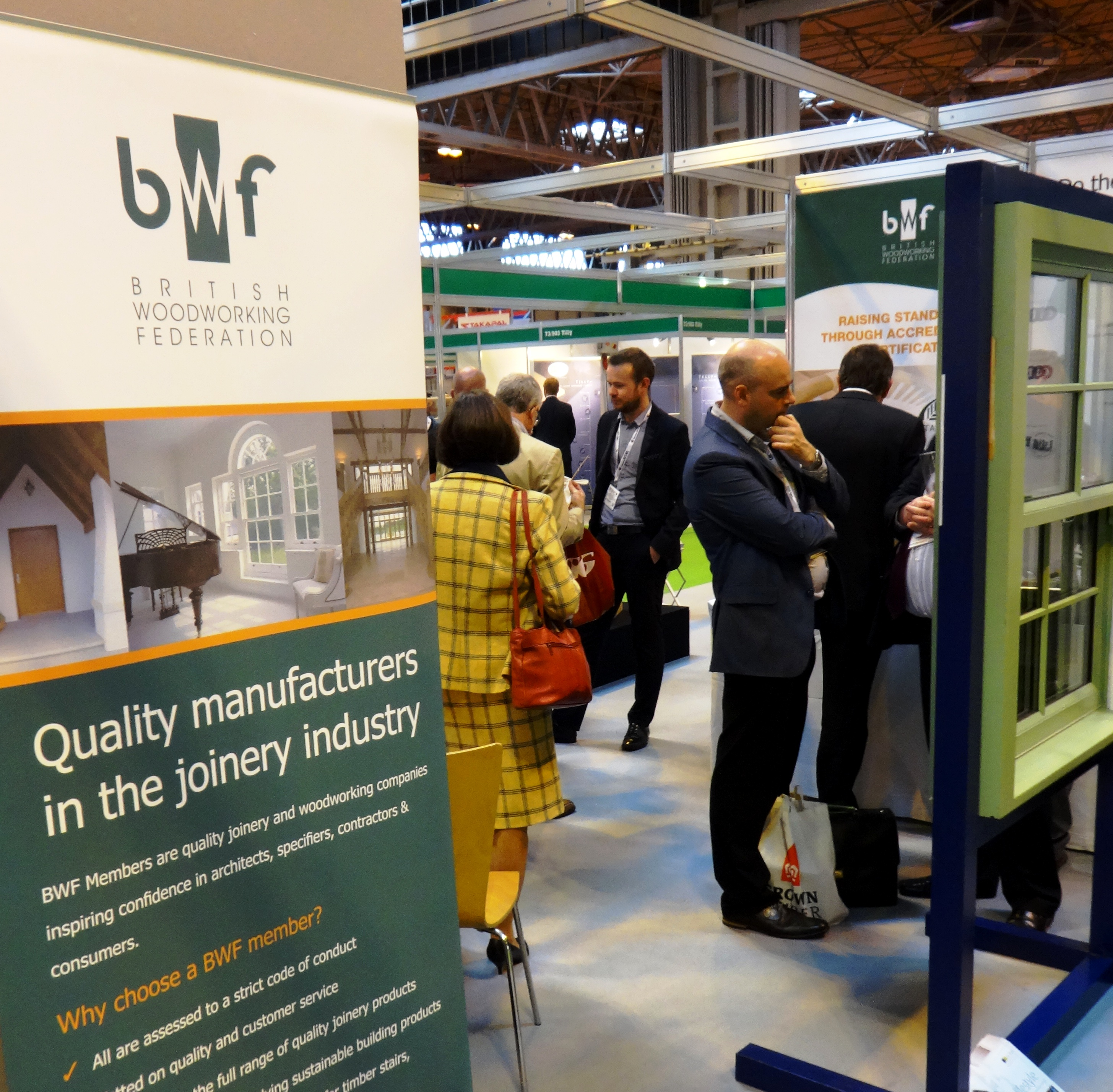 BWF at Timber Expo & UK Construction Week: 9-11 October